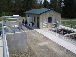 Pump Building and Contact Tank