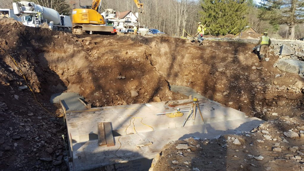precast concrete arch bridge Lycoming County