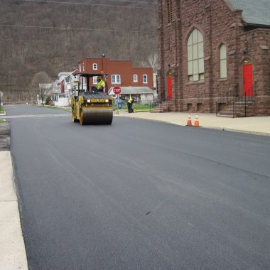 Photo of the day: Renovo Borough 11th Street Resurfacing