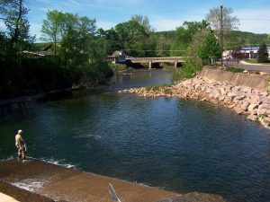 Benton Dam & Retaining Wall