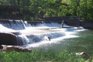 Benton dam repair