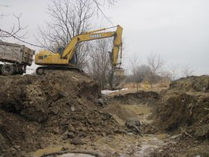 Shuck Road, Lewis Township, Culvert Replacement