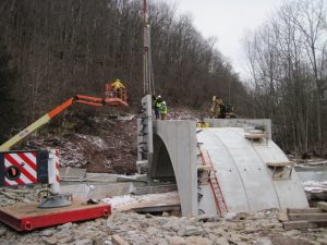 Upper Bodines Road Bridge, Lewis Township, Lycoming County, Bassett Engineering