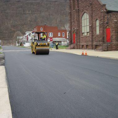 Photo of the day: Renovo Borough 11th Street Resurfacing