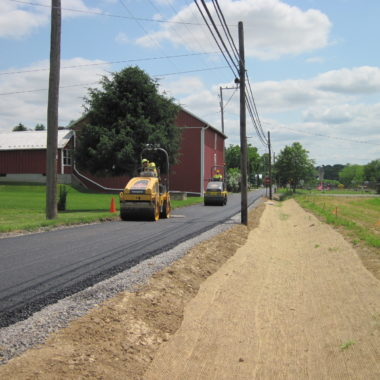 Photo of the day: Hartleton Park Road Paving