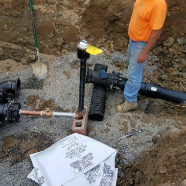 Completed Project: Millville Water Line Replacement