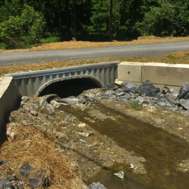 Completed Project: Valley Road Culvert Replacements