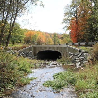 Completed Project: Tinkerbrook and Welch Hill Roads Aluminum Box Culverts