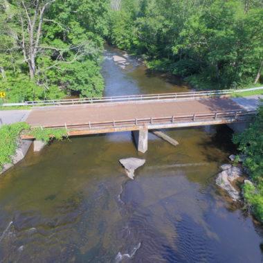 Fox Road Bridge Feature